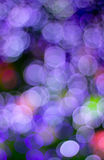 Colorful background taken from christmas lights Royalty Free Stock Photography