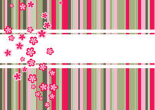 Colorful background template- vector. A colorful background template with lots of colors and flowers Royalty Free Stock Image