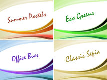 Colorful background templates Royalty Free Stock Images