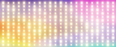 Colorful background with the tiny lamps Stock Image
