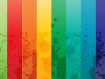 Colorful Background with vertical lines Royalty Free Stock Images