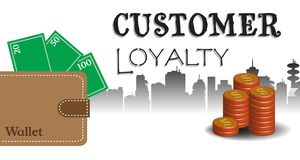 Customer loyalty concept vector illustration