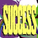 Colorful background with word success Royalty Free Stock Photo