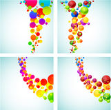 Colorful backgrounds. Royalty Free Stock Image