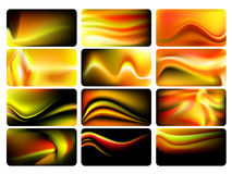 Colorful backgrounds set Stock Photos