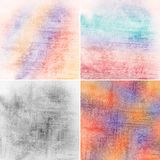 Colorful backgrounds. Set of vintage colorful backgrounds Royalty Free Stock Photos