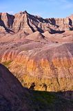 Colorful Badlands Formations Stock Image