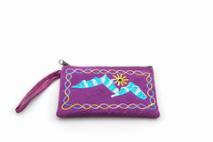 Colorful of  bag on white background Stock Images