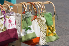 Colorful bags Royalty Free Stock Photo