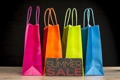 Summer sale concept stock photography
