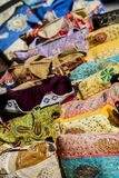 Colorful bags on the market Stock Photography