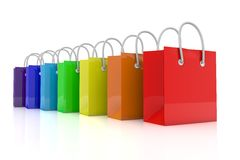 colorful bags Stock Photography