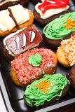 Colorful bakery Stock Photo