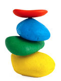Colorful Balancing stones Royalty Free Stock Photo