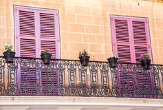 Colorful Balcony Royalty Free Stock Photos