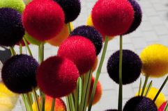 Colorful ball background Royalty Free Stock Photography