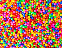 Colorful ball. And colorful of background royalty free stock photography
