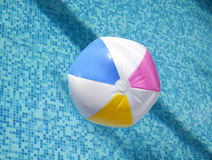 A colorful ball floating Stock Photography