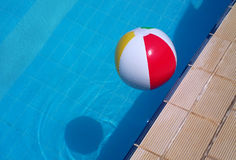 Colorful ball floating Stock Photo