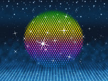Colorful Ball Means Colors Sparkles And Party Royalty Free Stock Image