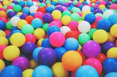 Colorful ball in playground. Colorful ball in children playground Royalty Free Stock Photo