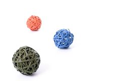 Colorful ball shapes Royalty Free Stock Photo