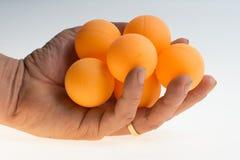 Colorful ball table tennis ball Stock Image