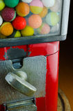 Colorful ball vending machine Stock Image