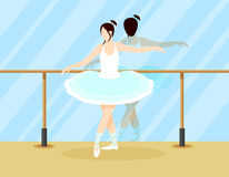 Colorful Ballet Dancer Concept Stock Photo