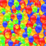 Colorful Ballons Stock Photography