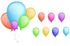 Colorful balloon Stock Photography