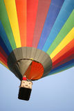 Colorful balloon. Colorful hot air balloon against clear sky Royalty Free Stock Image