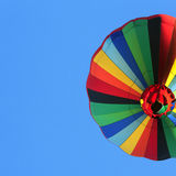 Colorful balloon. Hot air balloon over blue sky Stock Images