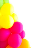 Colorful balloon background Stock Photos