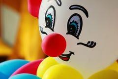 Colorful balloon clown Royalty Free Stock Photos