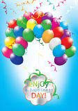 Colorful balloon color Royalty Free Stock Photos