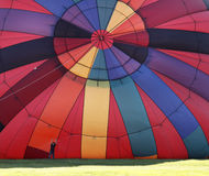 Colorful balloon inflate Royalty Free Stock Images