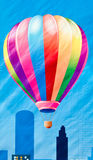Colorful balloon painting Stock Photo