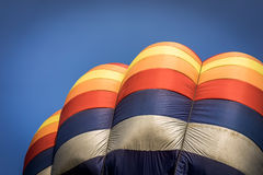 Colorful balloon. A shot of a colorful hot air balloon Royalty Free Stock Image