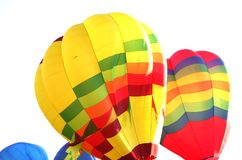 Colorful Balloons. Flying in the sky Royalty Free Stock Photo