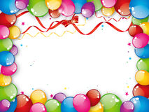 Colorful balloons Royalty Free Stock Image