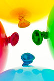 Colorful balloons. Stock Photo