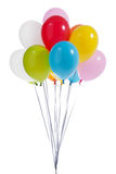 Colorful balloons Stock Images