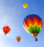 Colorful balloons royalty free stock images