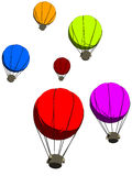 Colorful balloons stock illustration