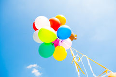 Colorful balloons Royalty Free Stock Photos