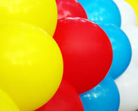 Colorful balloons, air Stock Photo