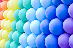 Colorful balloons background Stock Photos