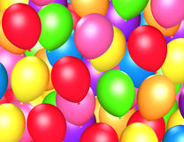 Colorful balloons background Royalty Free Stock Images