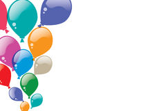 Colorful balloons Background. Designing has been a , which consist of colored balloons background. For the occasion Royalty Free Stock Photos